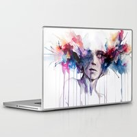 agnes Laptop & iPad Skins featuring l'assenza by agnes-cecile