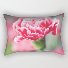 Dreamy Carnation Rectangular Pillow