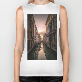 Canal of Venice Biker Tank