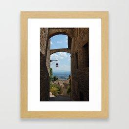 portals .:. assisi Framed Art Print