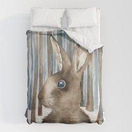 Woodland Rabbit Duvet Cover