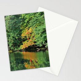 Evergreen Reflections- horizontal Stationery Cards
