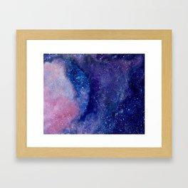 A galaxy not so far away Framed Art Print