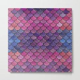 Lovely Pattern V (Glitter Version) Metal Print