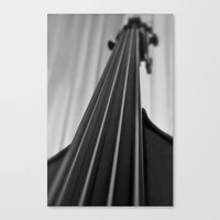 cello Canvas Prints featuring Cello by Anne Seltmann