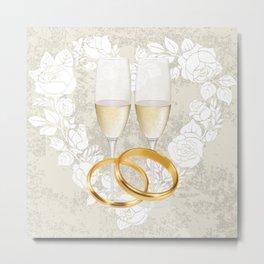 wedding celebration Metal Print