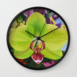 Awake Wall Clock