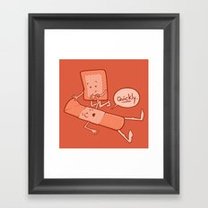 Come To My Aid Framed Art Print