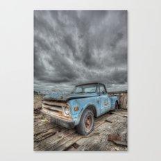 Old Thunder Canvas Print