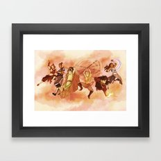 Team Avatar Framed Art Print