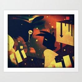 Devurnos Art Print