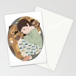 Nap time palls Stationery Cards