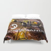 guardians Duvet Covers featuring Halo5 Guardians by store2u