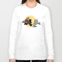 tintin Long Sleeve T-shirts featuring Mega TinTin Man by 84Nerd