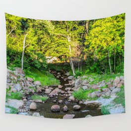 Where Does the Stream End? Wall Tapestry