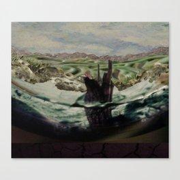 Still Waters Run  Canvas Print