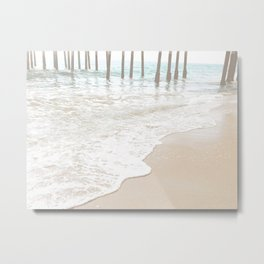 Huntington Beach Wave // California Ocean Sandy Beaches Surf Country Pacific West Coast Photography Metal Print