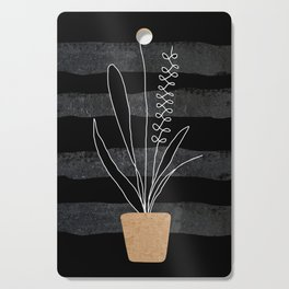 Scandi Plant 2 Cutting Board