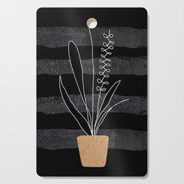 Scandi Plant 2 Cutting Board