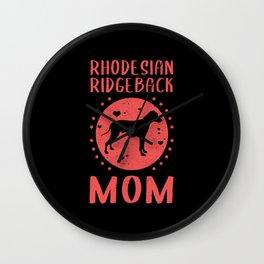 Rhodesian Ridgeback Mom | Gift Idea Wall Clock