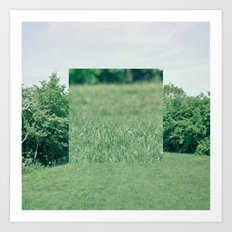 Fokus Objekt Abstand n°2 Art Print