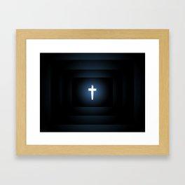 Love Peace n Sacrifice Framed Art Print