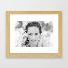 Fernanda. Framed Art Print