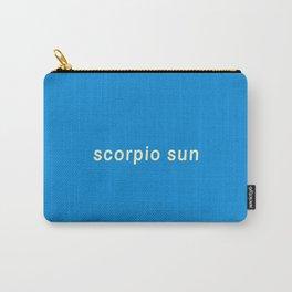 Scorpio Sun Carry-All Pouch