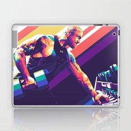 Dwayne Johnson Pop Art Laptop & iPad Skin