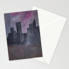 Skyline Sunset Stationery Cards
