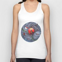 evil Tank Tops featuring Evil by Valentina Gruer