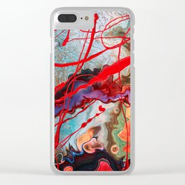 Storm Before the Calm Clear iPhone Case