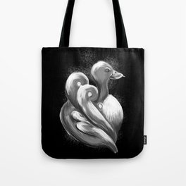 BW Swan - Mazuir Ross Tote Bag
