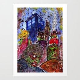 in to the apocalypse Art Print