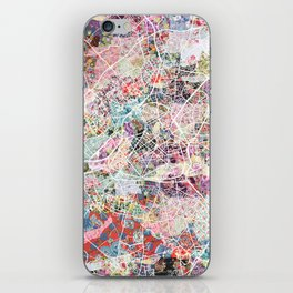 Lille map iPhone Skin