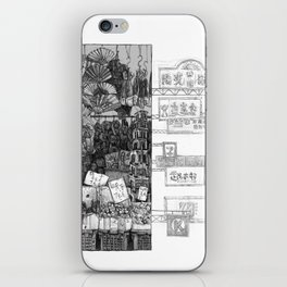 Hong Kong Series 1: Market  iPhone Skin