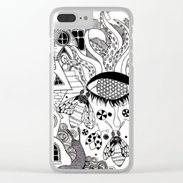 A Beautiul Mess Clear iPhone Case