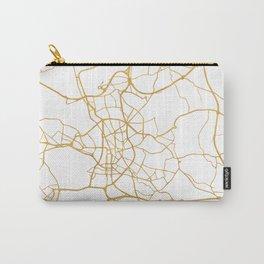 DÜSSELDORF GERMANY CITY STREET MAP ART Carry-All Pouch