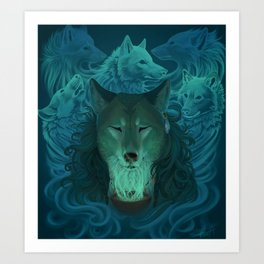 Calling the Spirits Art Print