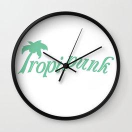 TROPI*PUNK Wall Clock
