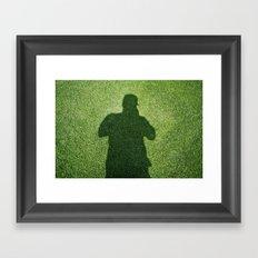 Shadow Man Framed Art Print