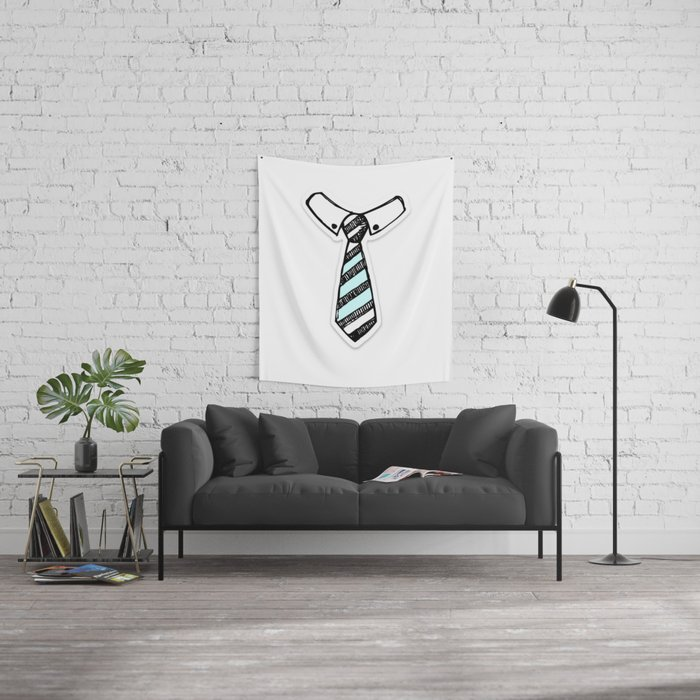 Paper Tie Wall Tapestry