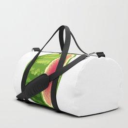 Water Melon Cut In Half Duffle Bag