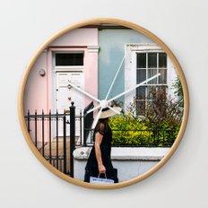 London - Notting Hill Wall Clock