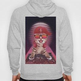DJ cat Hoody