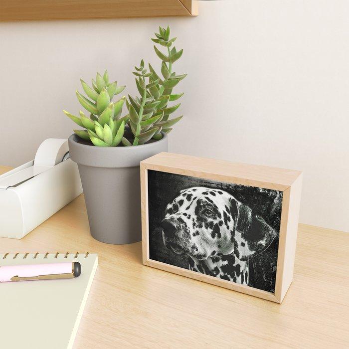 The Best Friends - Dalmatian Framed Mini Art Print