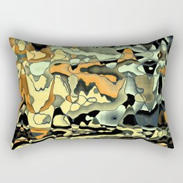 Rusty abstract Rectangular Pillow