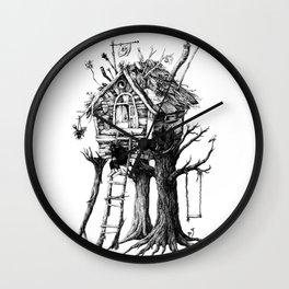 Autumn and cocoa Wall Clock