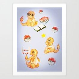 Baby Charman Art Print