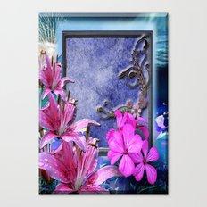 Window Sill Art Canvas Print